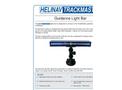 Helinav Trackmaster - Guidance Light Bar - Datasheet