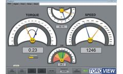 TorqView - Version 5.0 - Advanced Torque Monitoring PC Interface Software