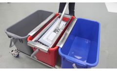 How to Use a Multiple Bucket Mopping System for Efficient Cleaning & Disinfecting - Video