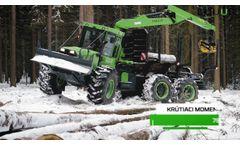 EQUUS 175N 6WDC – Prezentácia lesného traktora - Video