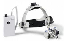 Opticlar - Model VM3 - LED Headlight - Professional Headband with Loupes