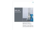ABEL - HM - Hydraulic Piston Membrane Pumps Brochure
