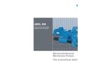ABEL - EM Series - Electric Diaphragm Pumps Metal - Brochure