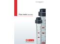 SAFI - Model M335 Series - Flow Meter  Brochure