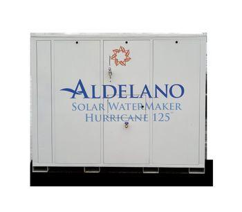 Aldelano Solar WaterMaker - Model Hurricane 125 - Atmospheric Water Generator