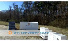 Aldelano Solar ColdBox - Video