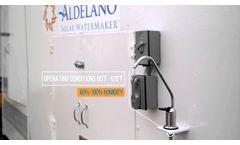 Aldelano Water Maker - Video