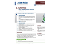 AUTOREG - Valve and Regulation Channel- Brochure