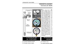 SDEC - SR 1000 - Direct Reading Tensiometer  Brochure