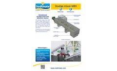 Sodimate - Model MBV - Sludge Mixer - Brochure