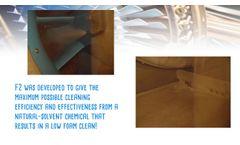 Rochem FYREWASH F2 - Low Foaming Gas Compressor Cleaner - Video