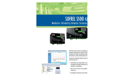 SOFREL - Model LT and LT-US - Data Loggers for Wastewater and Rainwater Networks - Brochure