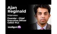 Ajan Reginald, Founder at Celixir - Future of Healthcare, AI, Blockchain, Mankind - Video