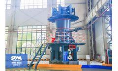 SBM - Model CLUM - Ultrafine Vertical Mill