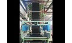 Agricultural mulching film machine - Video