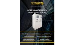 Troes - Outdoor Battery Energy Storage Cabinet System - Brochure