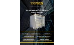 Troes - Container Battery Energy Storage Cabinet System - Brochure