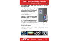 SAIREM - Model GLP360 COMPACT - 5 kW to 36 kW Microwave Generators at 915 MHz Brochure