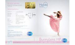 Hanita - Model BunnyLens HP - Hydrophobic Aspheric IOL System - Brochure