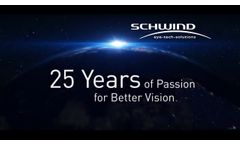 25 Years SCHWIND Laser - innovations in refractive surgery - Video
