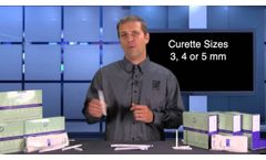 Spotlight on Delasco`s New Biopsy Punches and Dermal Curettes for Dermatologists - Video