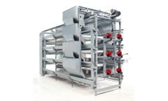 Retech - Model H Type - Pullet Chicken Cage