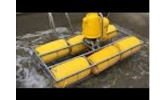 Numedic Pond Mixer in Cement Factory - Video