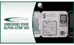 Unboxing Your Alpha Stim AID - Video