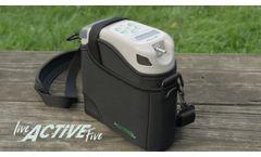 Live Active Five - Portable Oxygen Concentrator   Precision Medical - Video