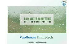 Raintap - Rain Water Filter - Brochure