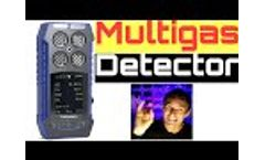 4x Gas Monitor and Multigas Detector - Video