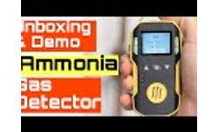 Ammonia Gas Detector - Video