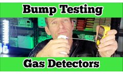 What is a bump test on a gas detector?- Video