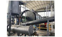 Mingjie - Model MJ - Waste Tire Plastic Pyrolysis Plant
