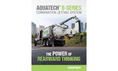 Aquatech - Model B-Series - Rear-Mounted Sewer Cleaner - Datasheet