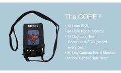 The CORE12 ECG Monitor by ACS Diagnostics - Video