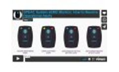 SPEAC System sEMG Monitor: How to Resolve Operational Alerts - Video