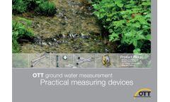 OTT Ground Water - Brochure