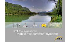OTT Discharge - Mobile Measurement Systems - Brochure