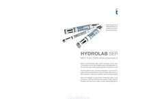 HYDROLAB SERIES 5 MS5/DS5/DS5X MuIti-Parameter Sondes - Leaflet