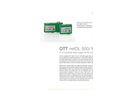 OTTnetDL 500/1000 IP Compatible Data Logger - Brochure