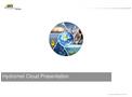 HydrometCloud Presentation - Brochure
