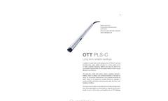 OTT PLS-C Pressure Probe with Conductivity Sensor - Leaflet