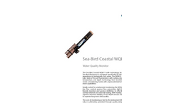 Sea-Bird - Coastal Water Quality Monitor (WQM) - Brochure