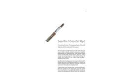 Sea-Bird Scientific HydroCAT - Brochure