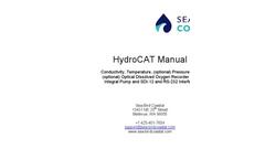 Sea-Bird Scientific HydroCAT - Manual
