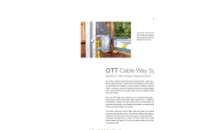 OTT Cable Way Systems - Leaflet