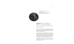 OTT Sonicflow Ultrasonic System - Leaflet