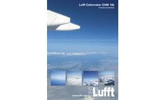 Lufft - Cloud Height Detection (DE/EN) - Brochure