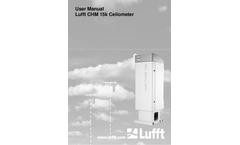 Lufft - CHM15k - Manual